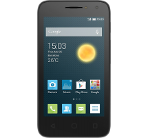 Смартфон Alcatel One Touch PIXI 4 4034D Volcano Black